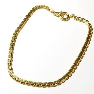 Napier gold chain bracelet simple classic design